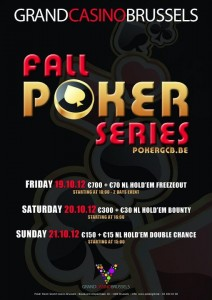 Fall Poker Series Brussel